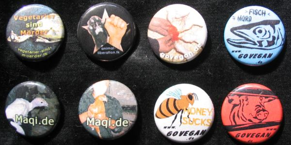 vegan buttons